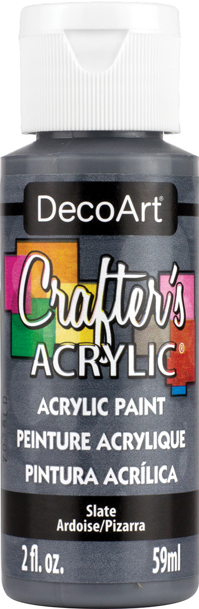 Crafter's Acrylic All-Purpose Paint 2oz-Slate