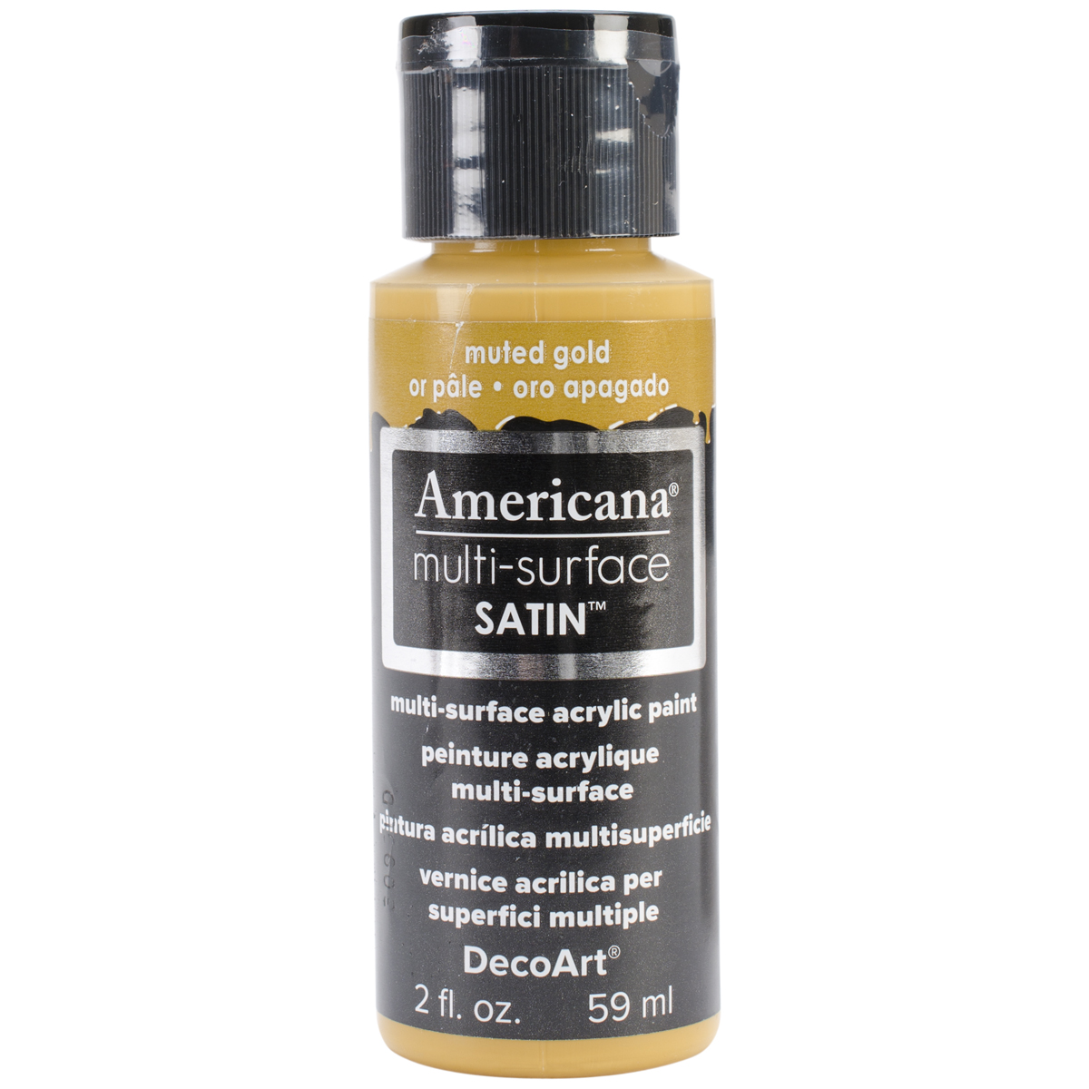 AMERICANA PAINT 2OZ MUTED GOLD