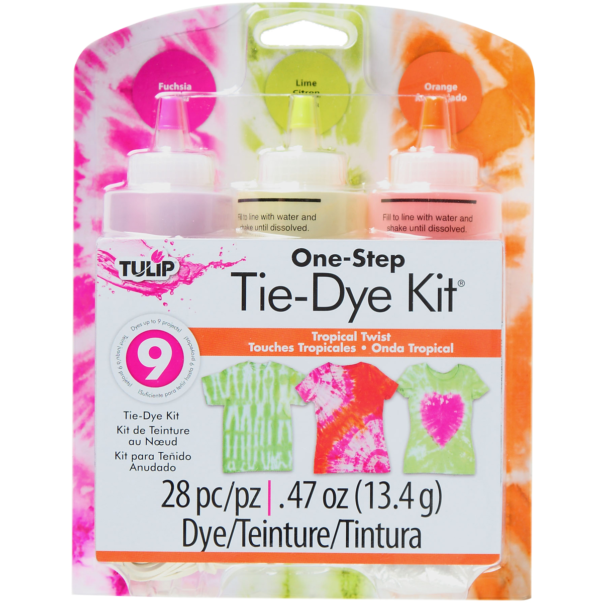 Tulip One-Step Tie-Dye Kit - VARIOUS CHOICES!