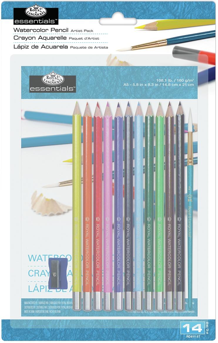 Essentials(TM) Artist Pack-Watercolor Pencil