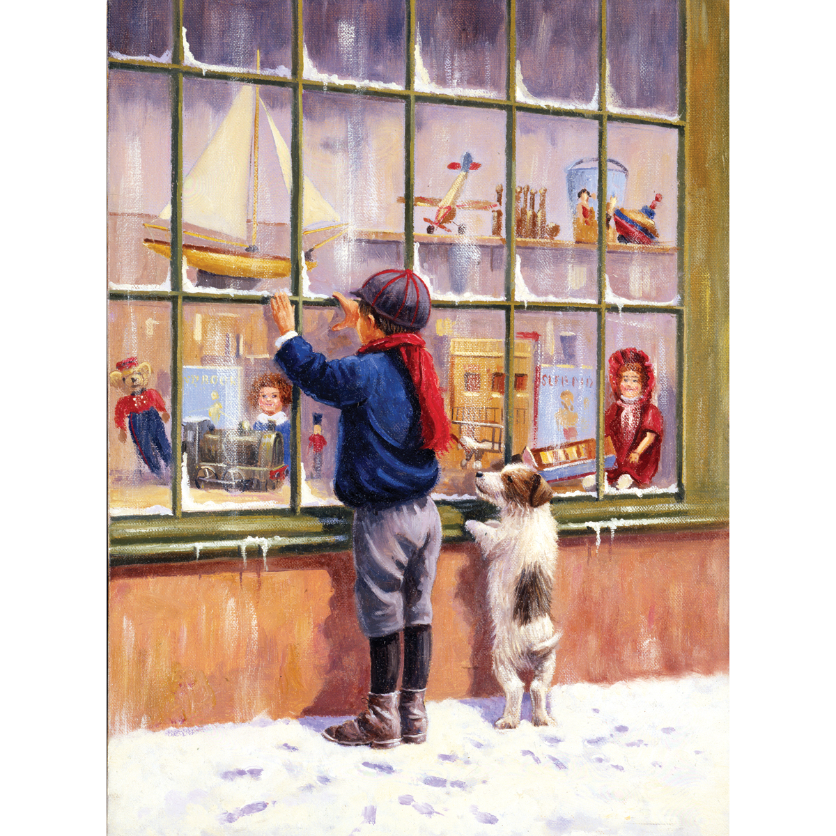 Junior Small Paint By Number Kit 8.75X11.75-Christmas Wish