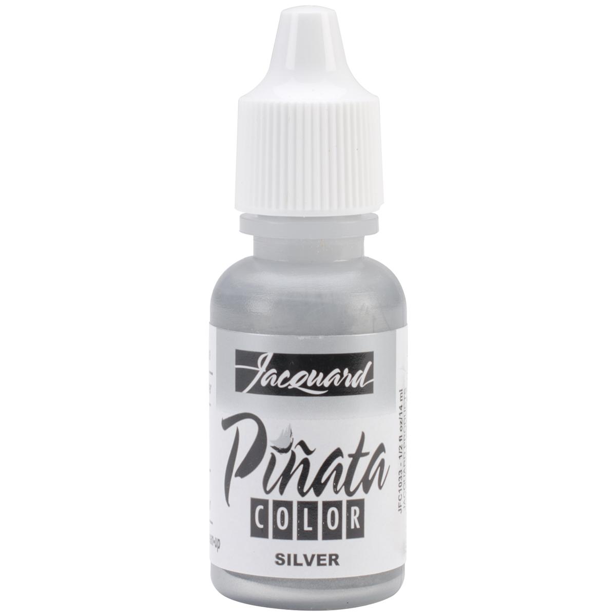 Jacquard Pinata Color Alcohol Ink .5oz-Silver