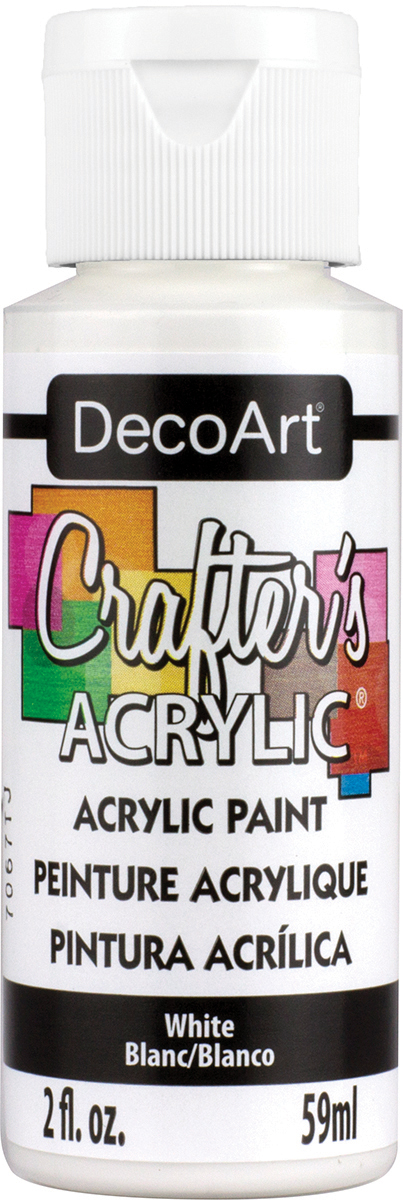 Crafter's Acrylic All-Purpose Paint 2oz-White
