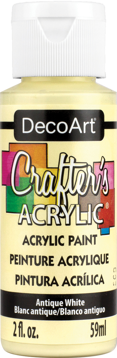 Crafter's Acrylic All-Purpose Paint 2oz-Antique White