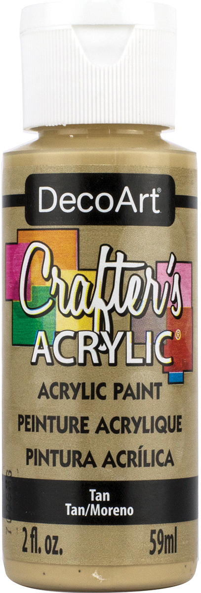 Crafter's Acrylic All-Purpose Paint 2oz-Tan