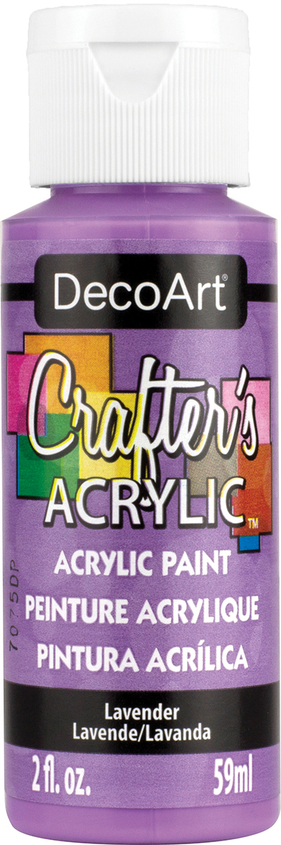 Crafter's Acrylic All-Purpose Paint 2oz-Lavender
