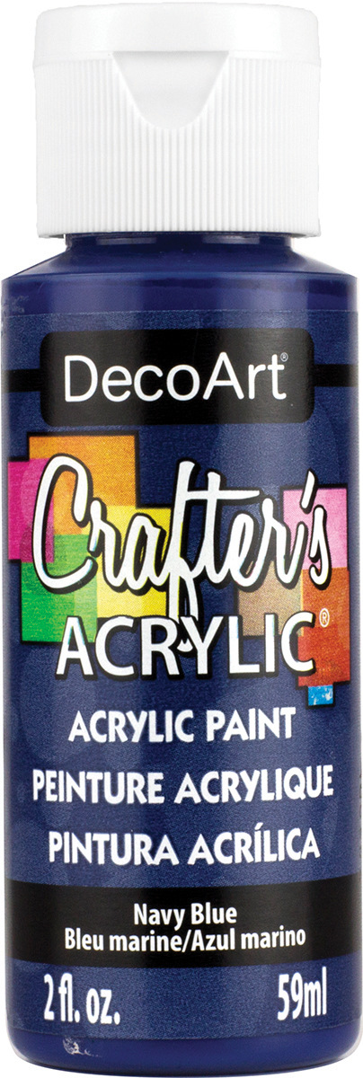 Crafter's Acrylic All-Purpose Paint 2oz-Navy Blue