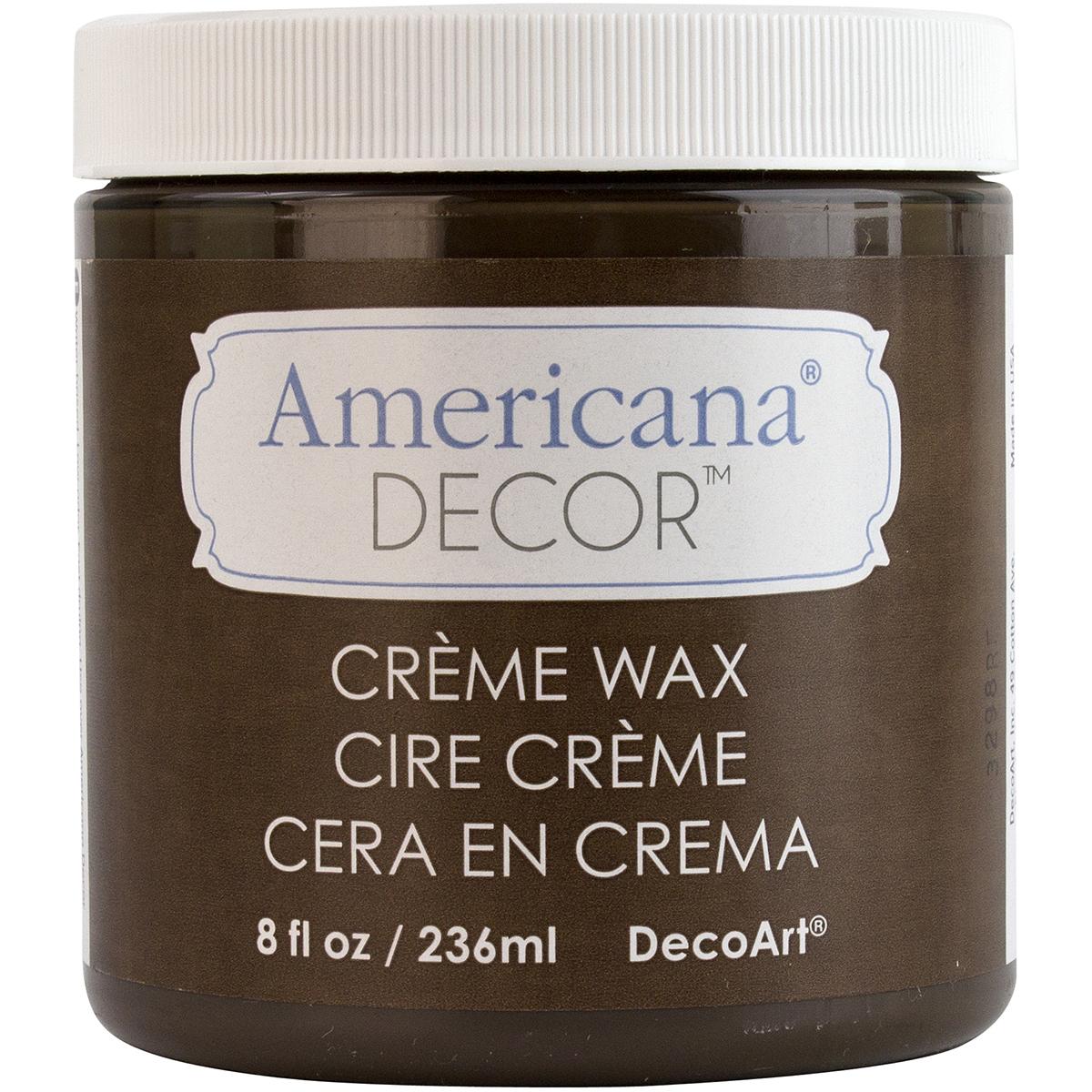 Americana Decor Creme Wax 4oz-Clear