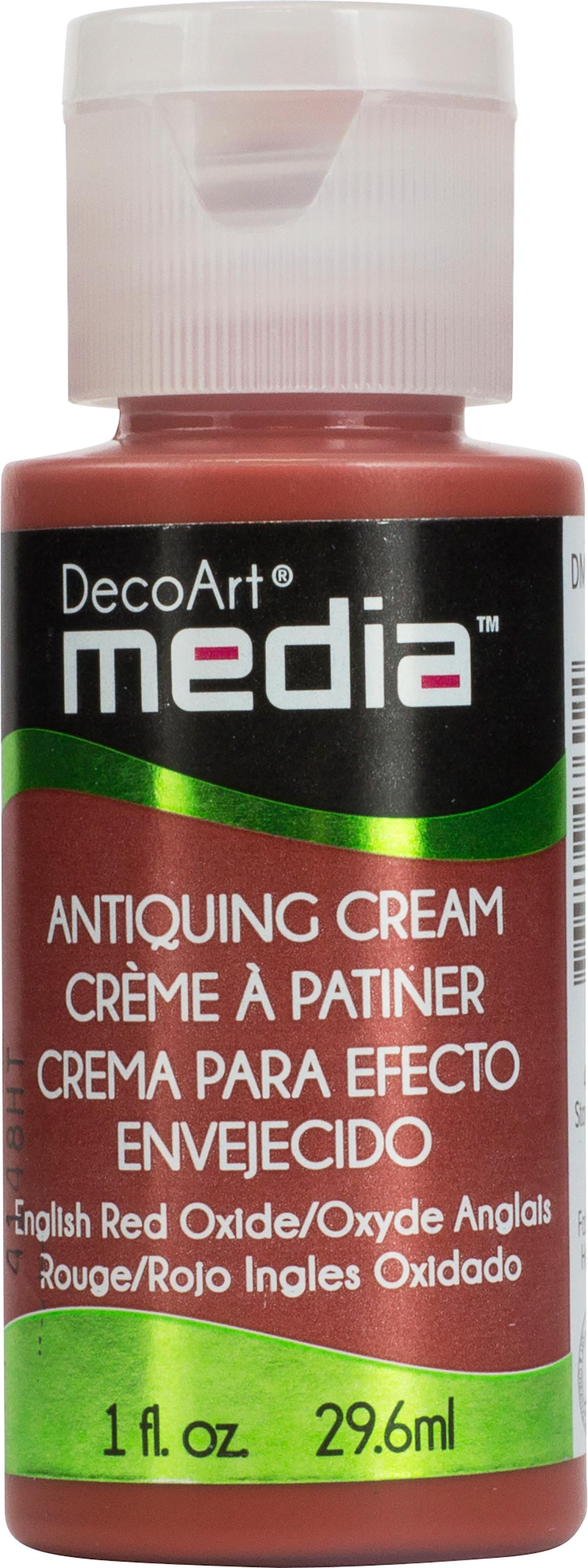DecoArt - Media Antiquing Cream - Red Oxide