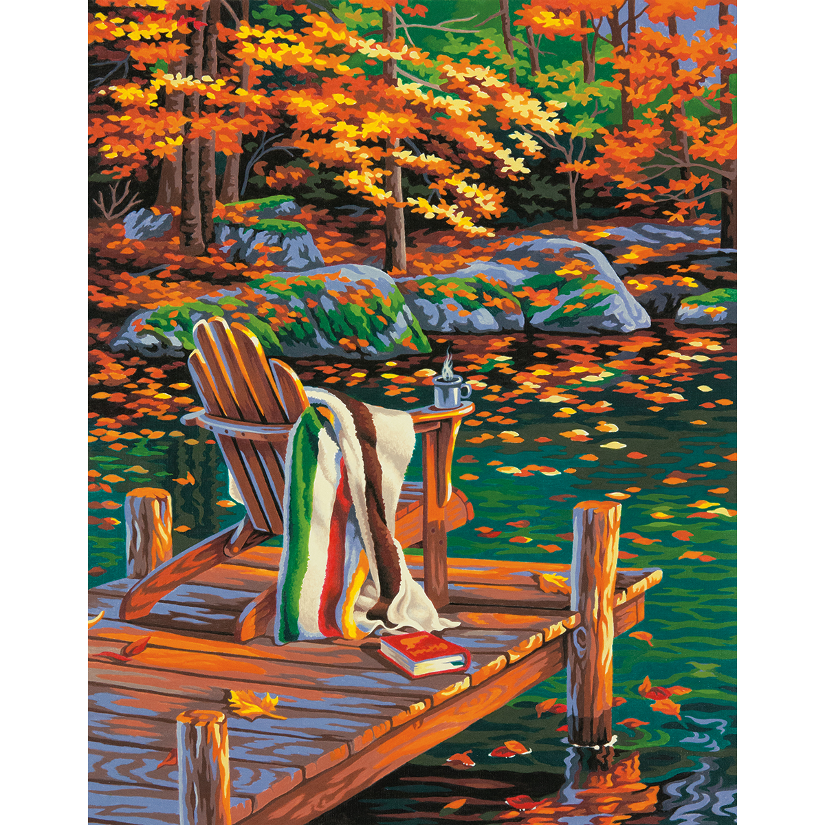 Paint Works Paint By Number Kit 14X11-Golden Pond