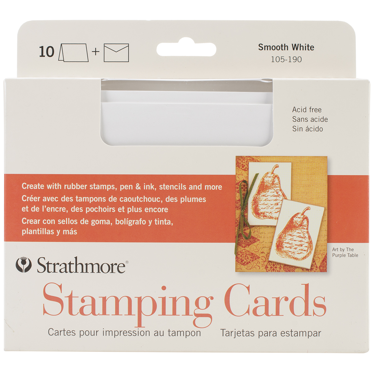 Strathmore Stamping Cards & Envelopes
