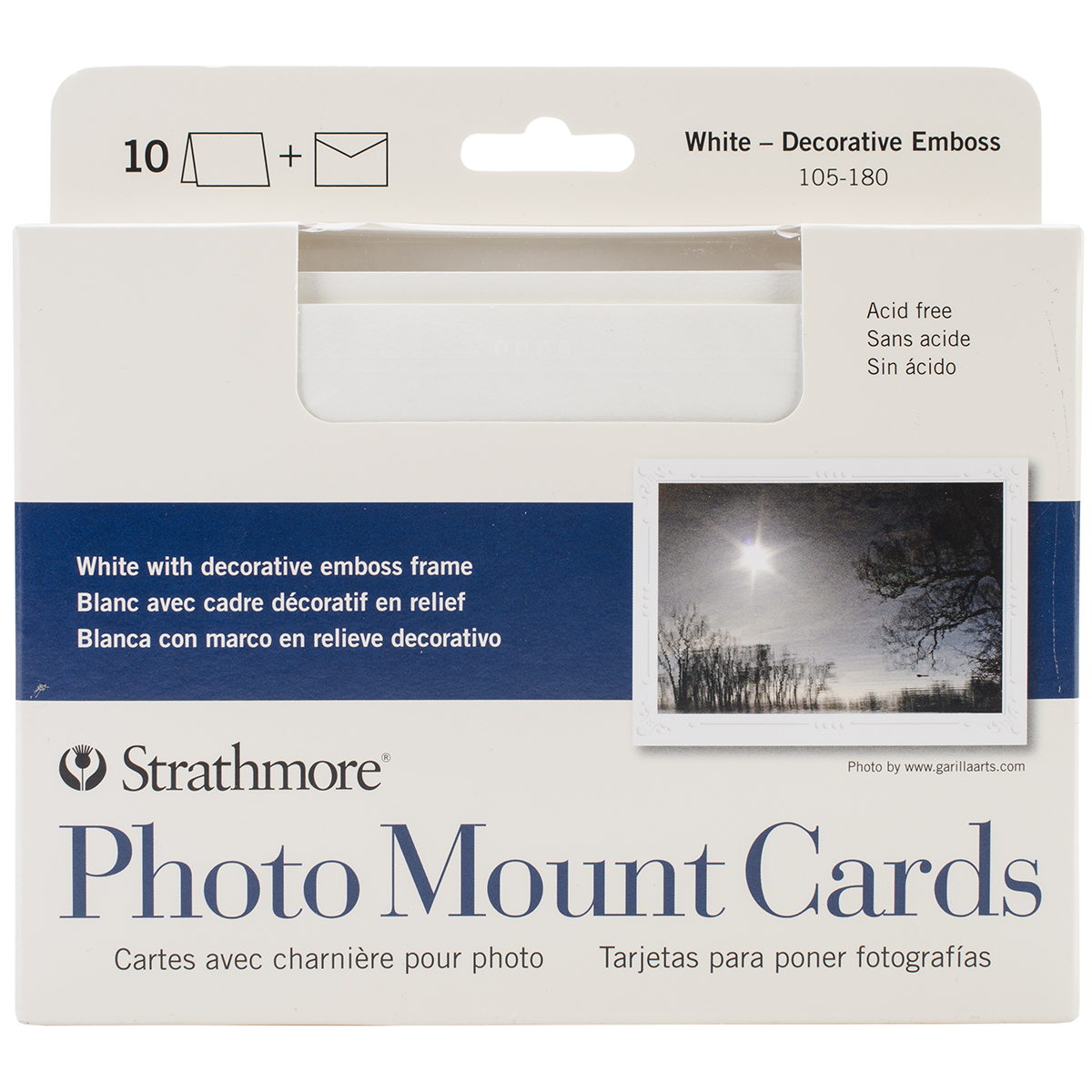 Strathmore Photo Mount Cards & Envelopes
