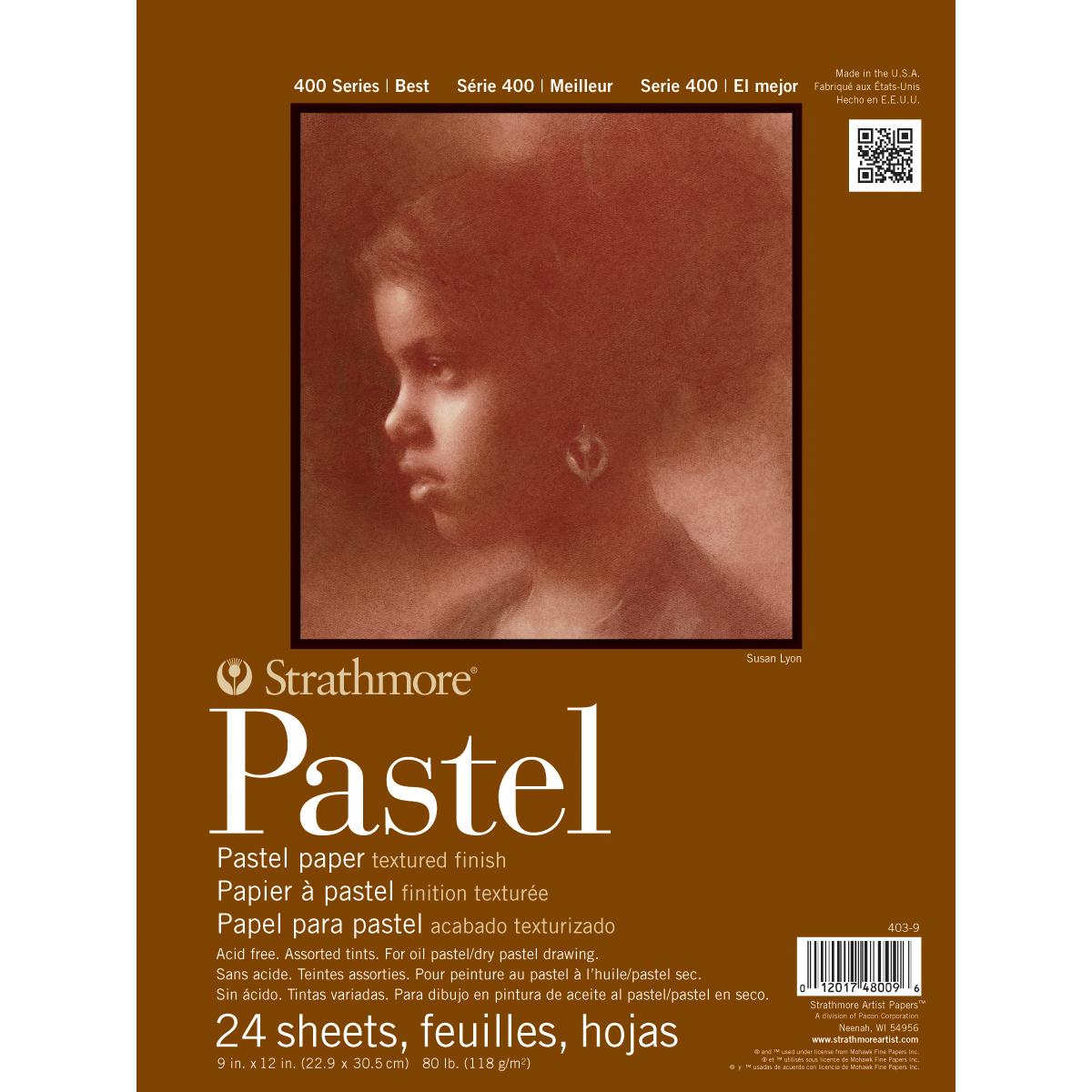 PASTEL 400 9X12 24 SHEETS