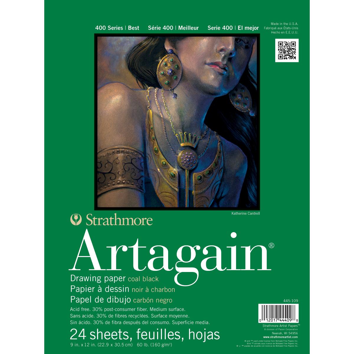 PASTEL 400 ARTAGAIN 9X12 24 SHEETS