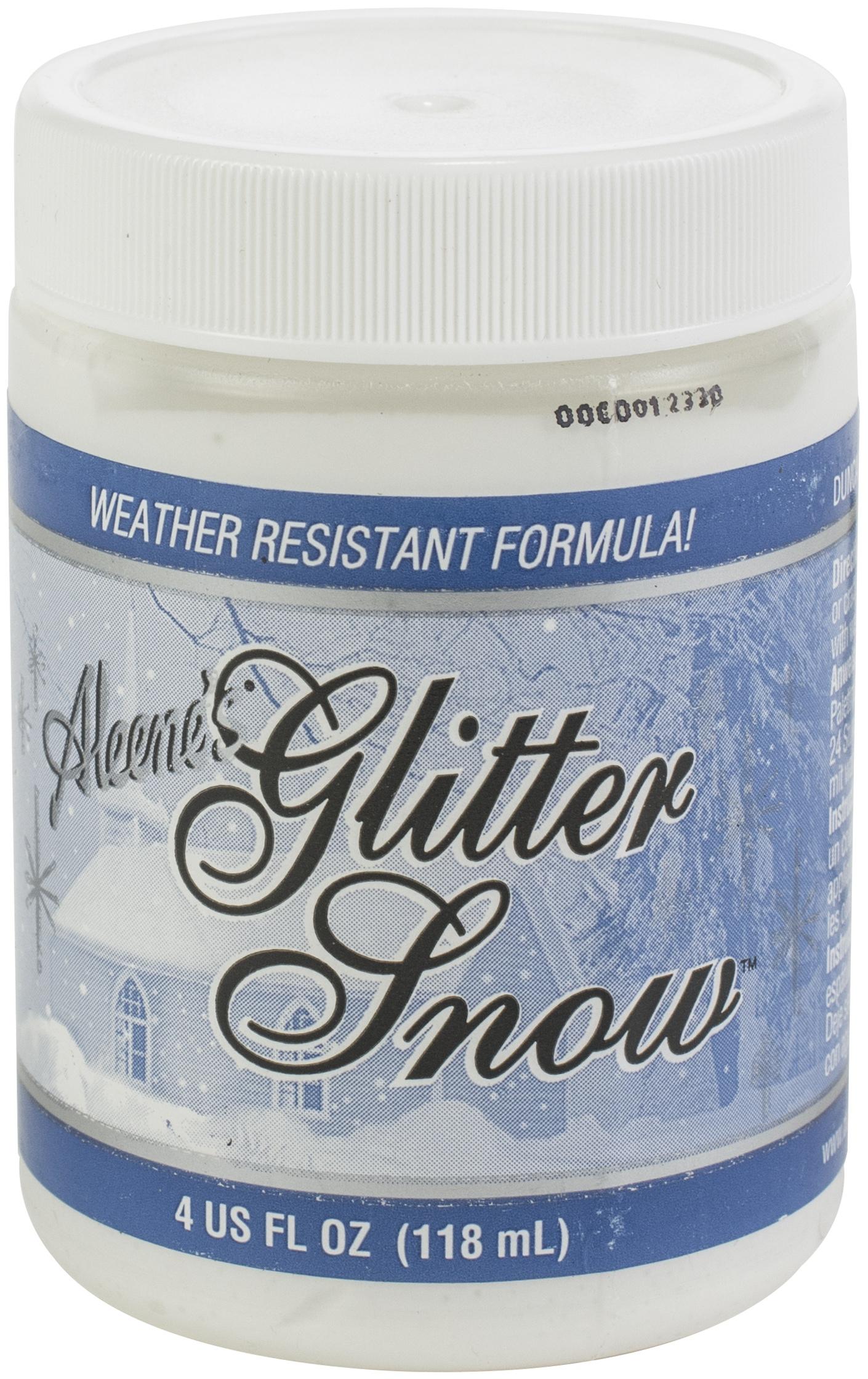 Aleene's Glitter Snow 4oz-