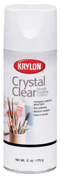 Crystal Clear Acrylic Coating Aerosol Spray 6oz