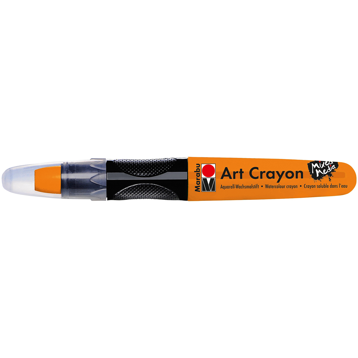 Marabu Creative Art Crayons-Orange