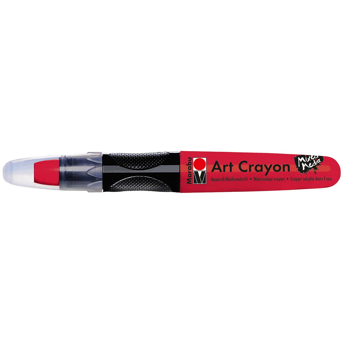 Marabu Creative Art Crayons-Cherry Red