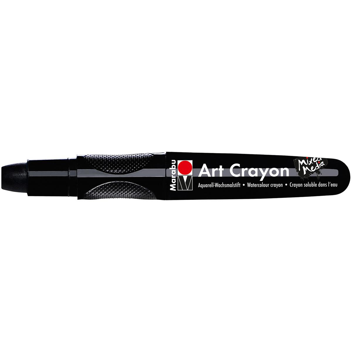 Marabu Creative Art Crayons-Black