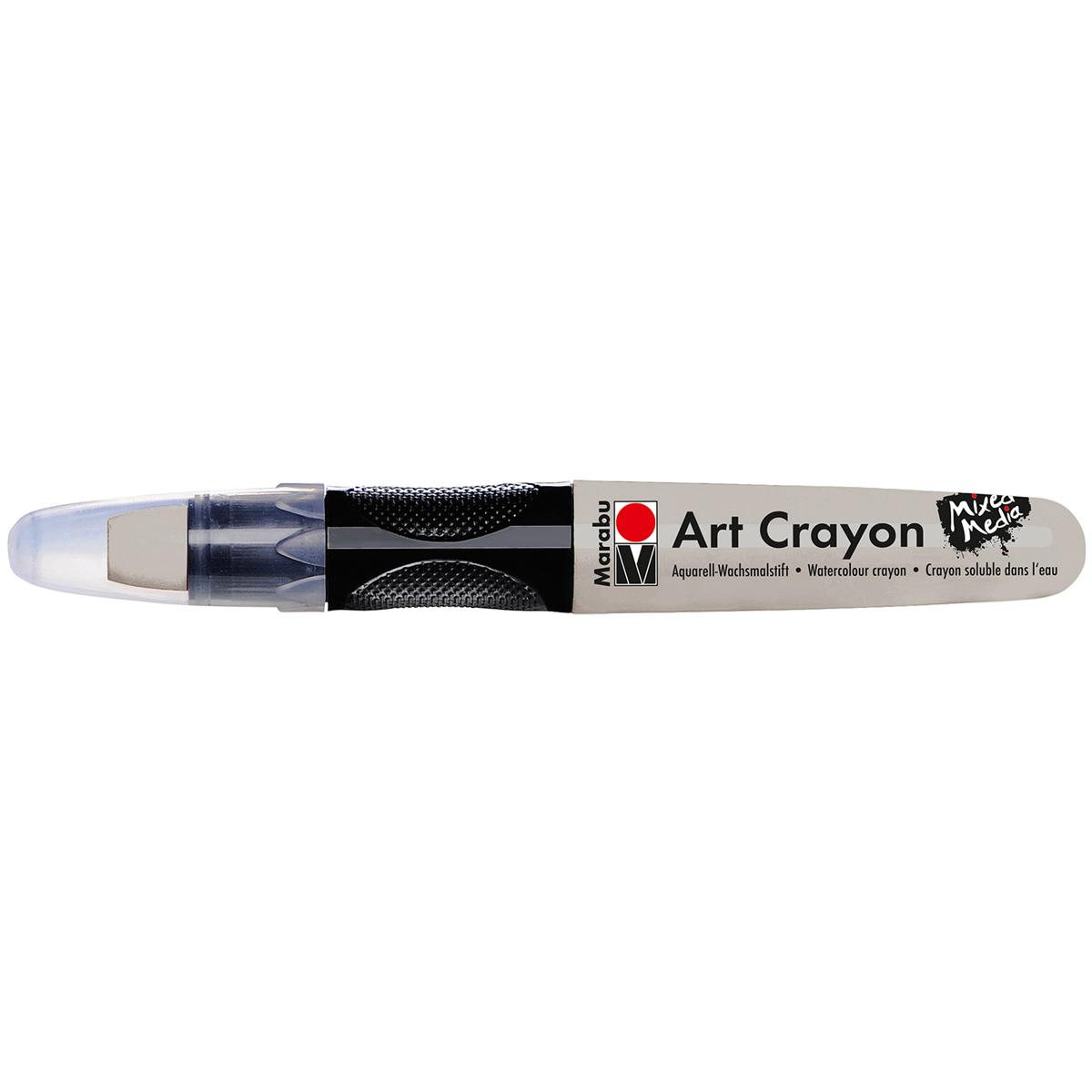 Marabu Creative Art Crayons-Silver