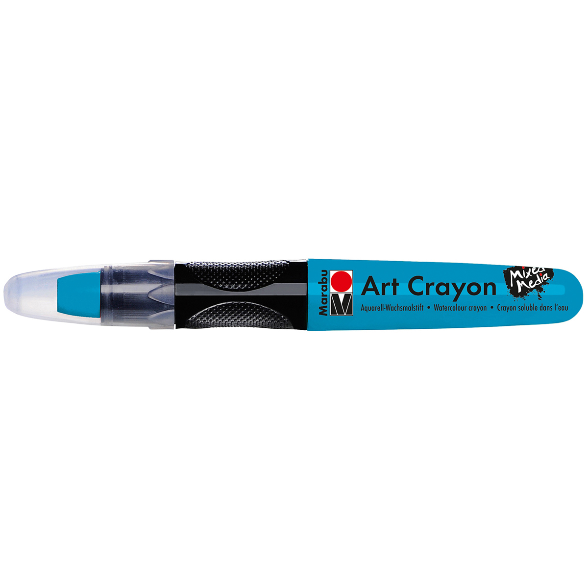 Marabu Creative Art Crayons-Turquoise