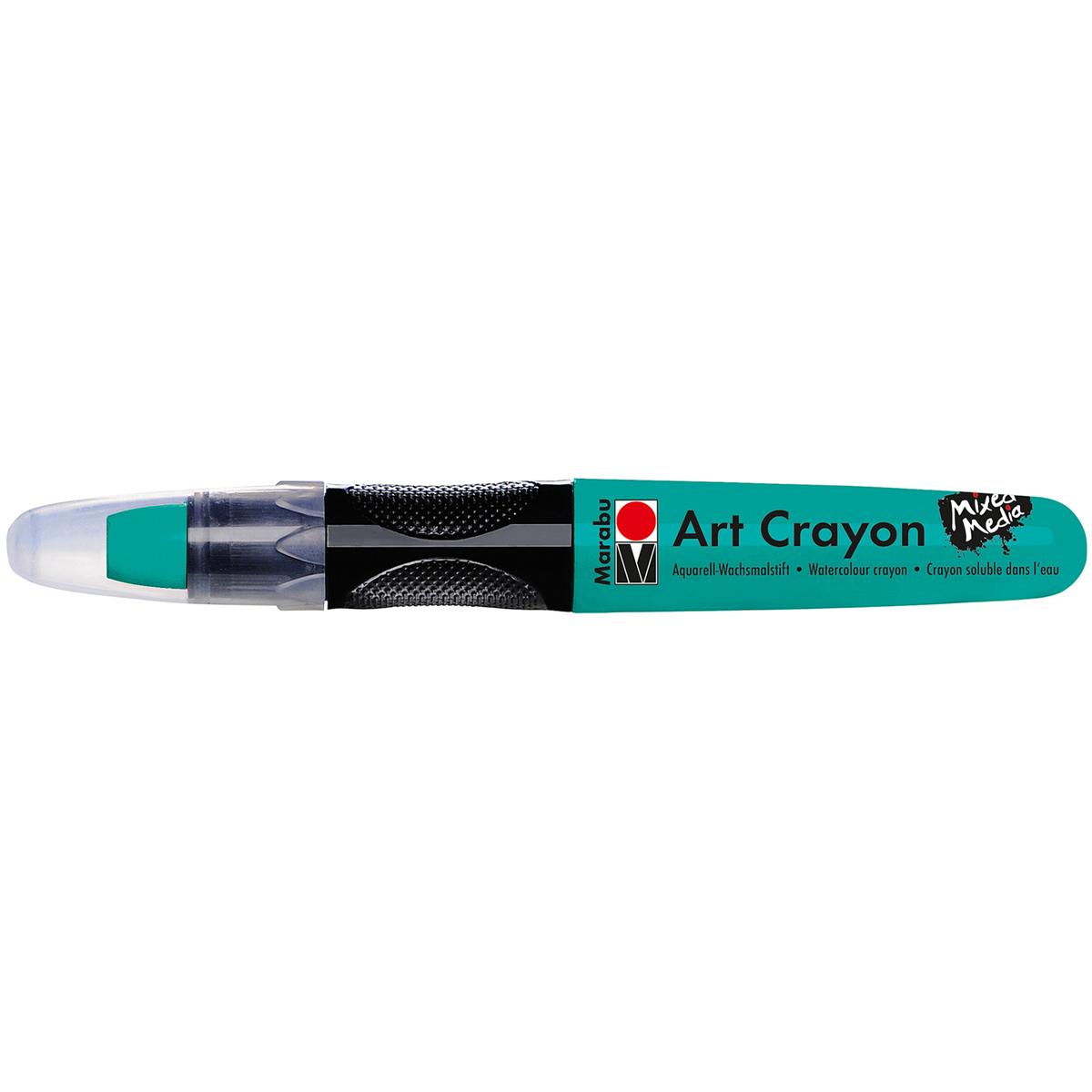 Marabu Creative Art Crayons-Aqua Green