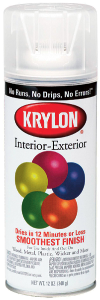 Krylon Decorator Paints 11oz Acrylic Crystal Clear