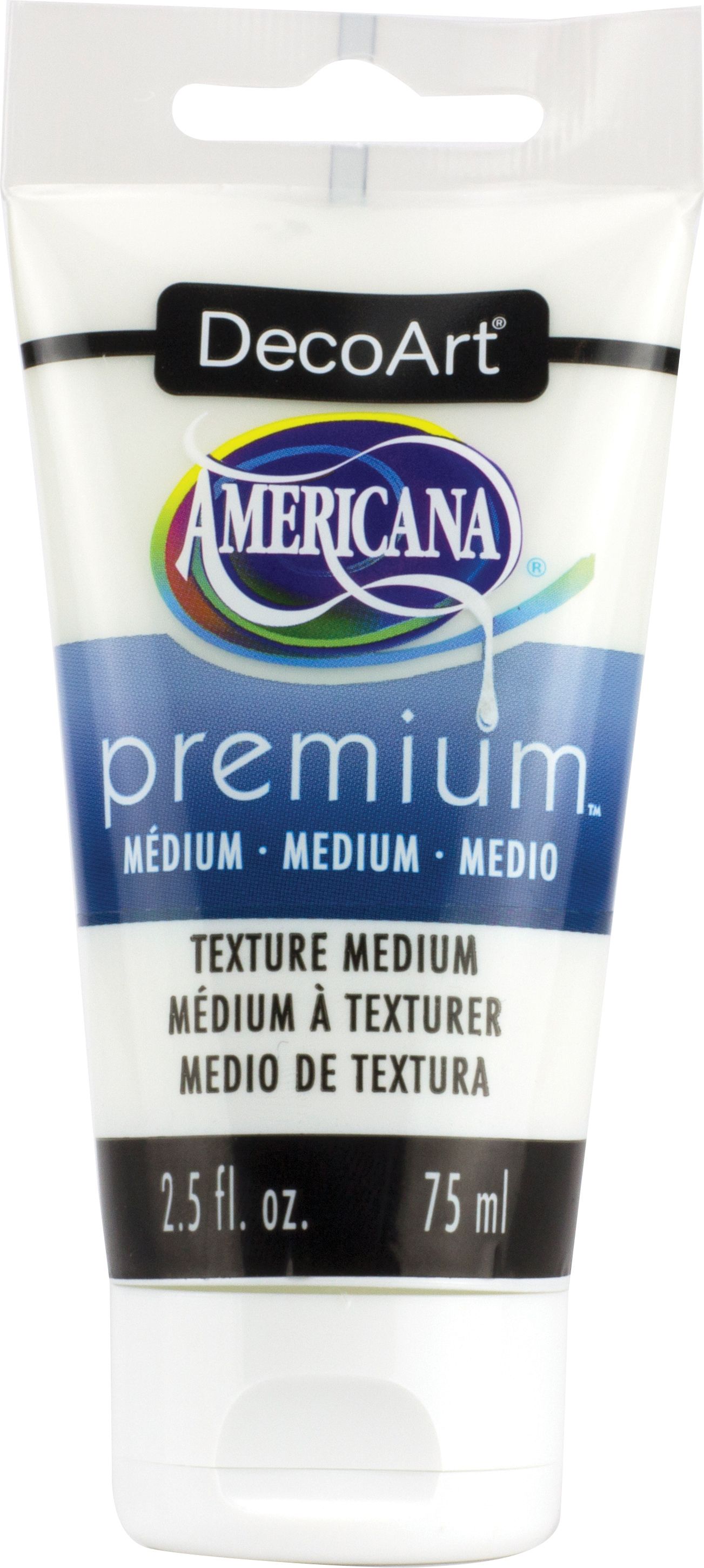 Americana Premium Acrylic Medium Paint Tube 2.5oz-Texture