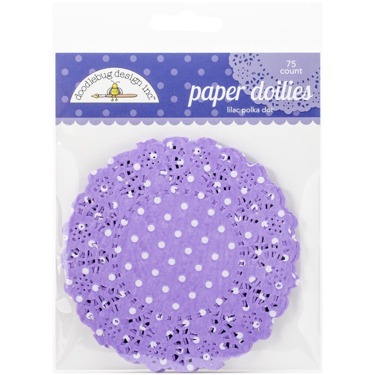 Doodlebug - Lilac PD Doilies