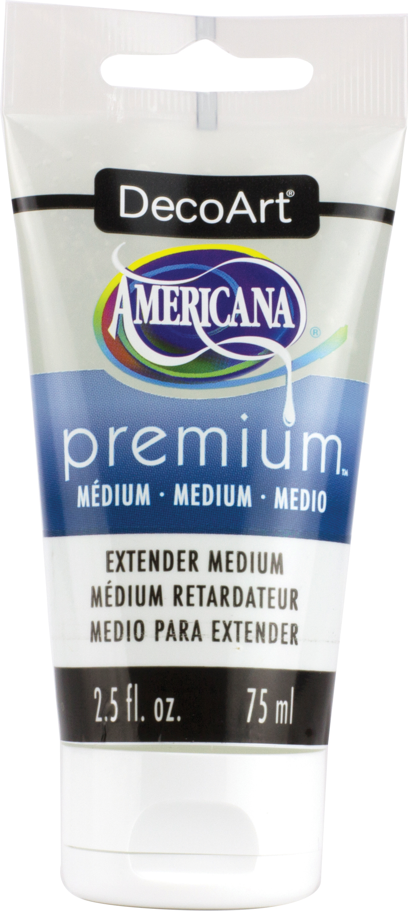 Americana Premium Acrylic Medium Paint Tube 2.5oz-Extender