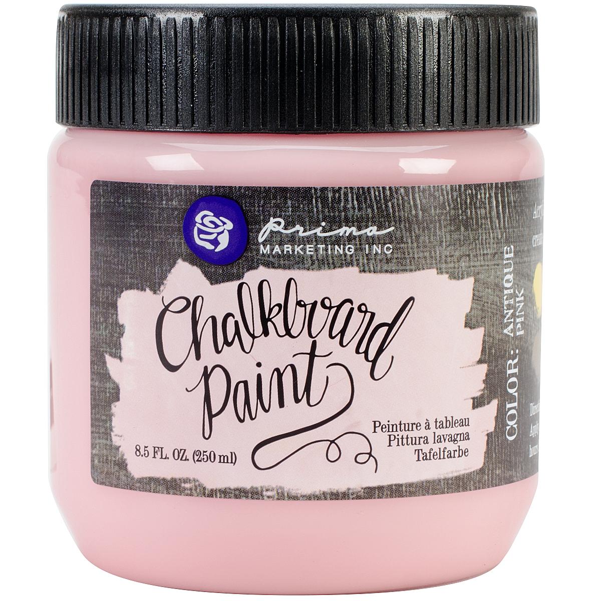 Prima Marketing Chalkboard Paint 8.5oz-Antique Pink