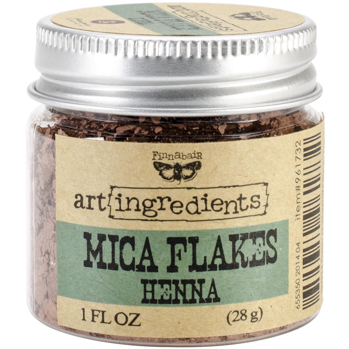 Finnabair Art Ingredients Mica Flakes 1oz-Henna