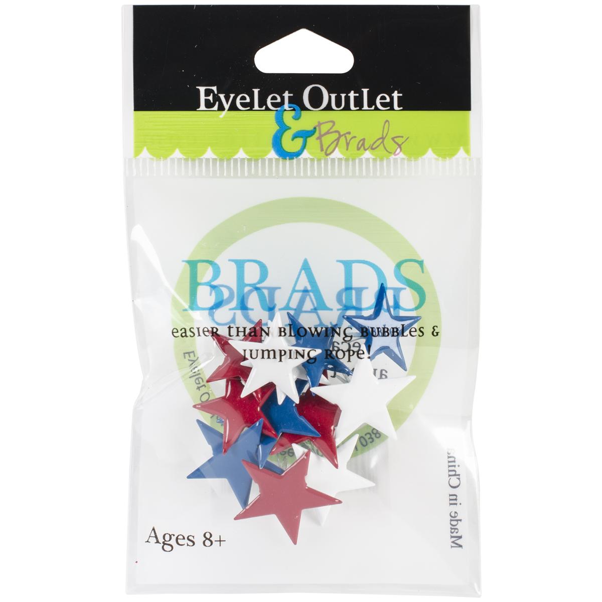 Brads Red White Blue Stars