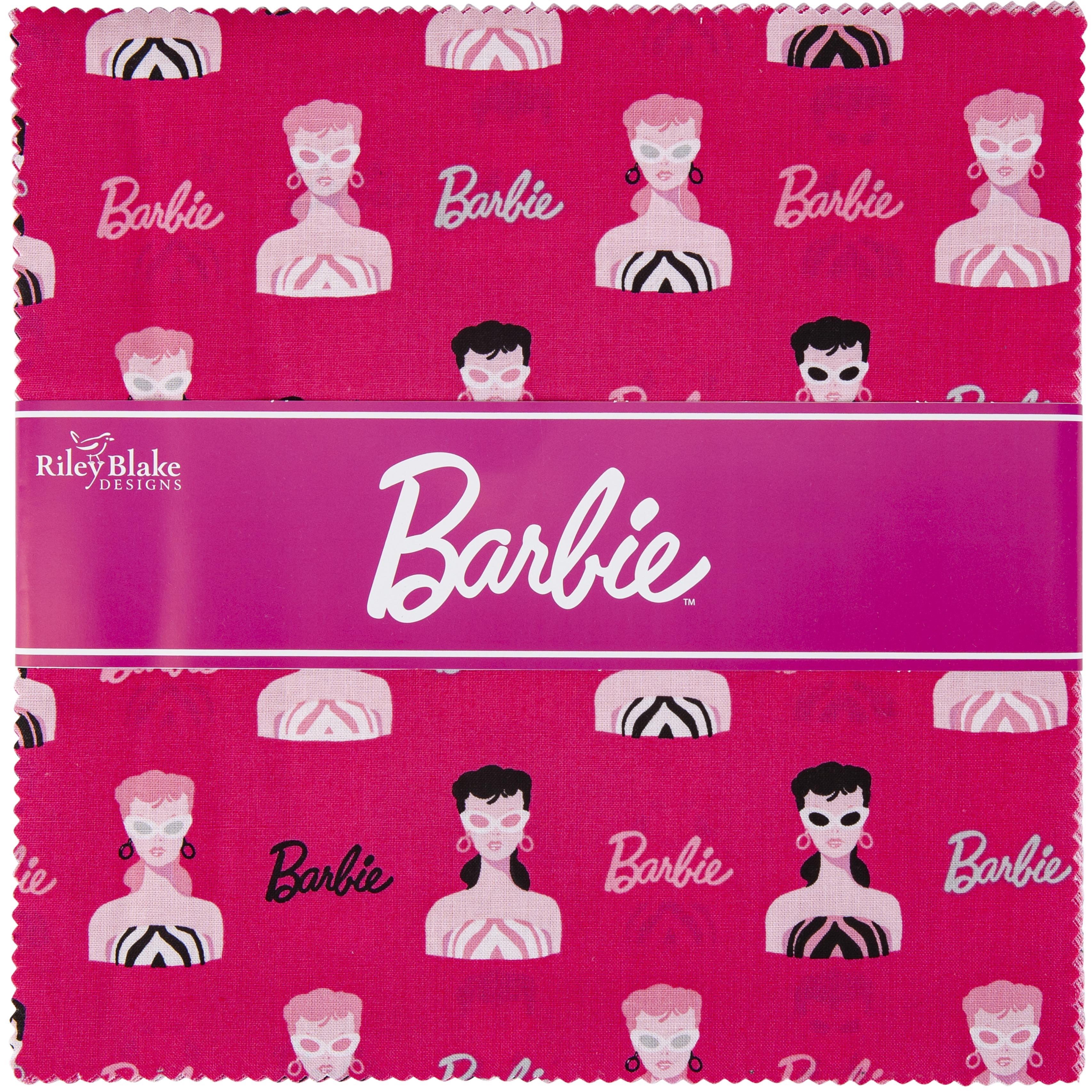 Riley Blake 10 Stacker Precut Bundle 42pcs-Barbie