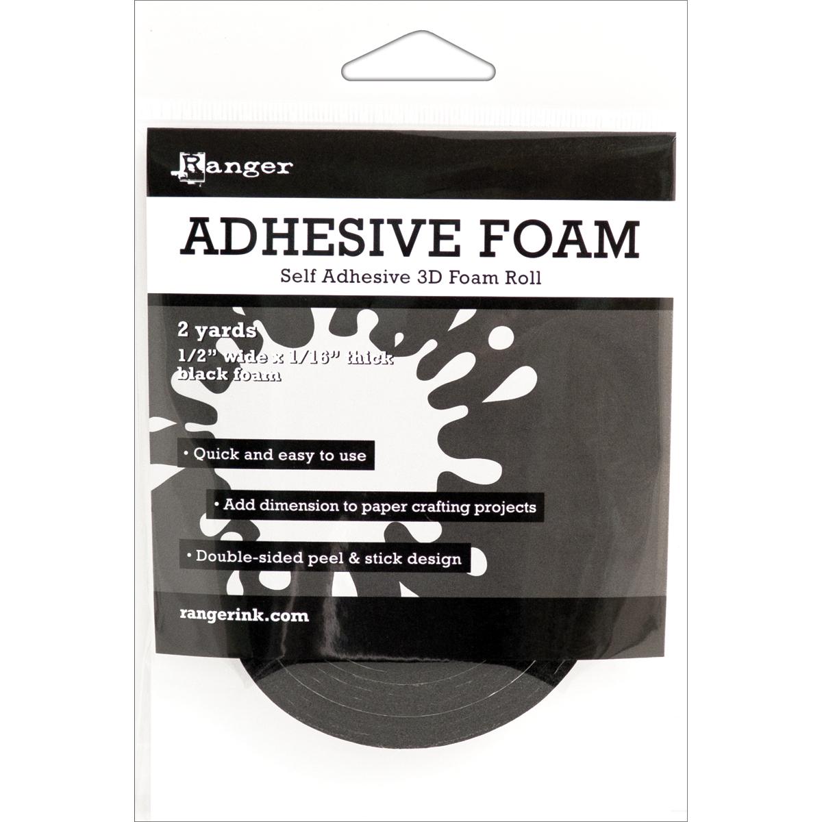 Adhesive Foam Black