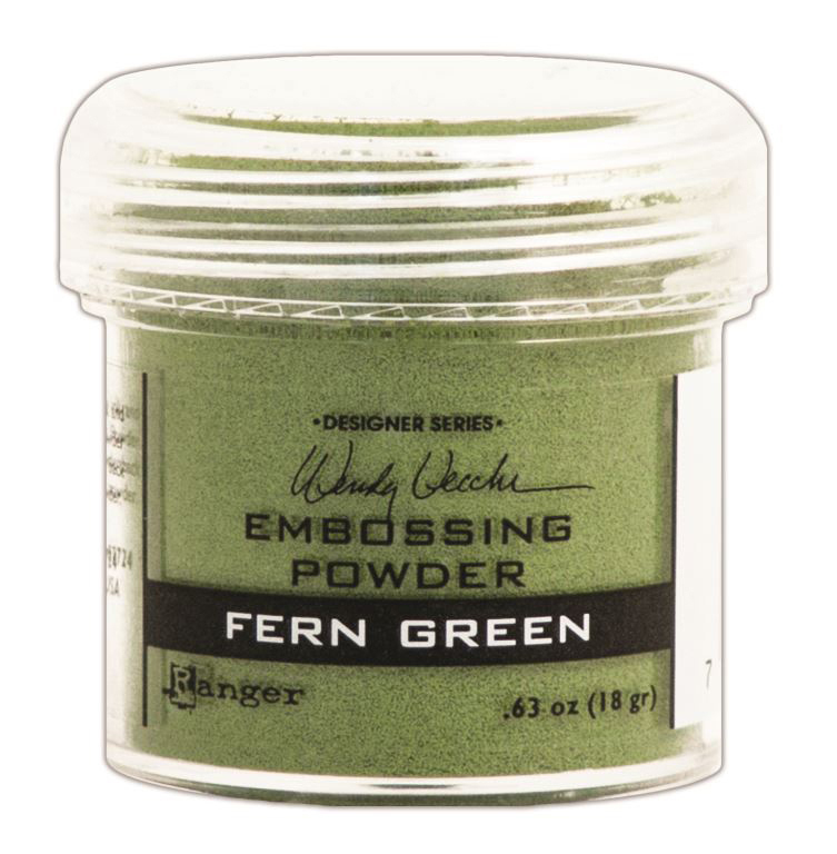 FERN GREEN-EMBOSSING POWDER