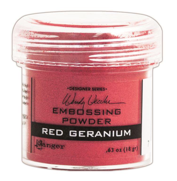 RED GERANIUM-EMBOSSING POWDER