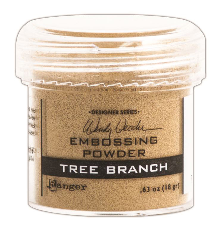 Wendy Vecchi Embossing Powder Tree Branch