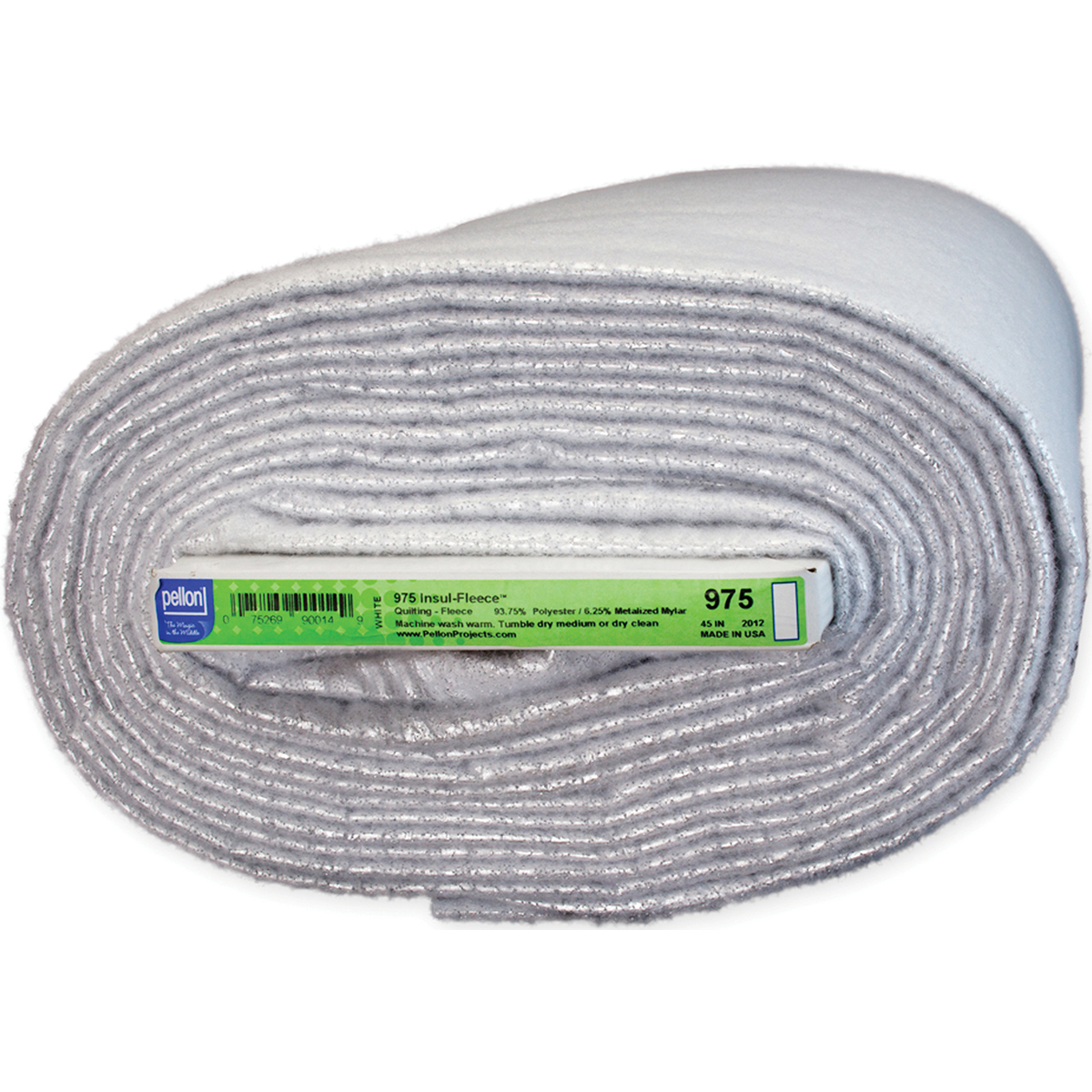 Pellon Polyester Insul-Fleece-White 45X10yd FOB: MI