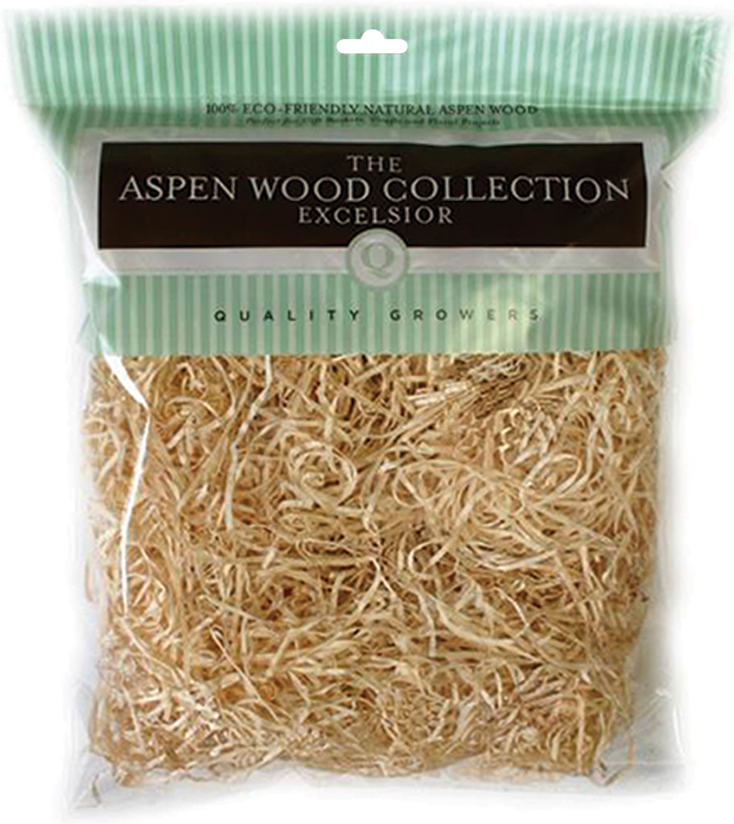 Quality Growers Aspenwood Excelsior 328 Cubic Inches-Natural