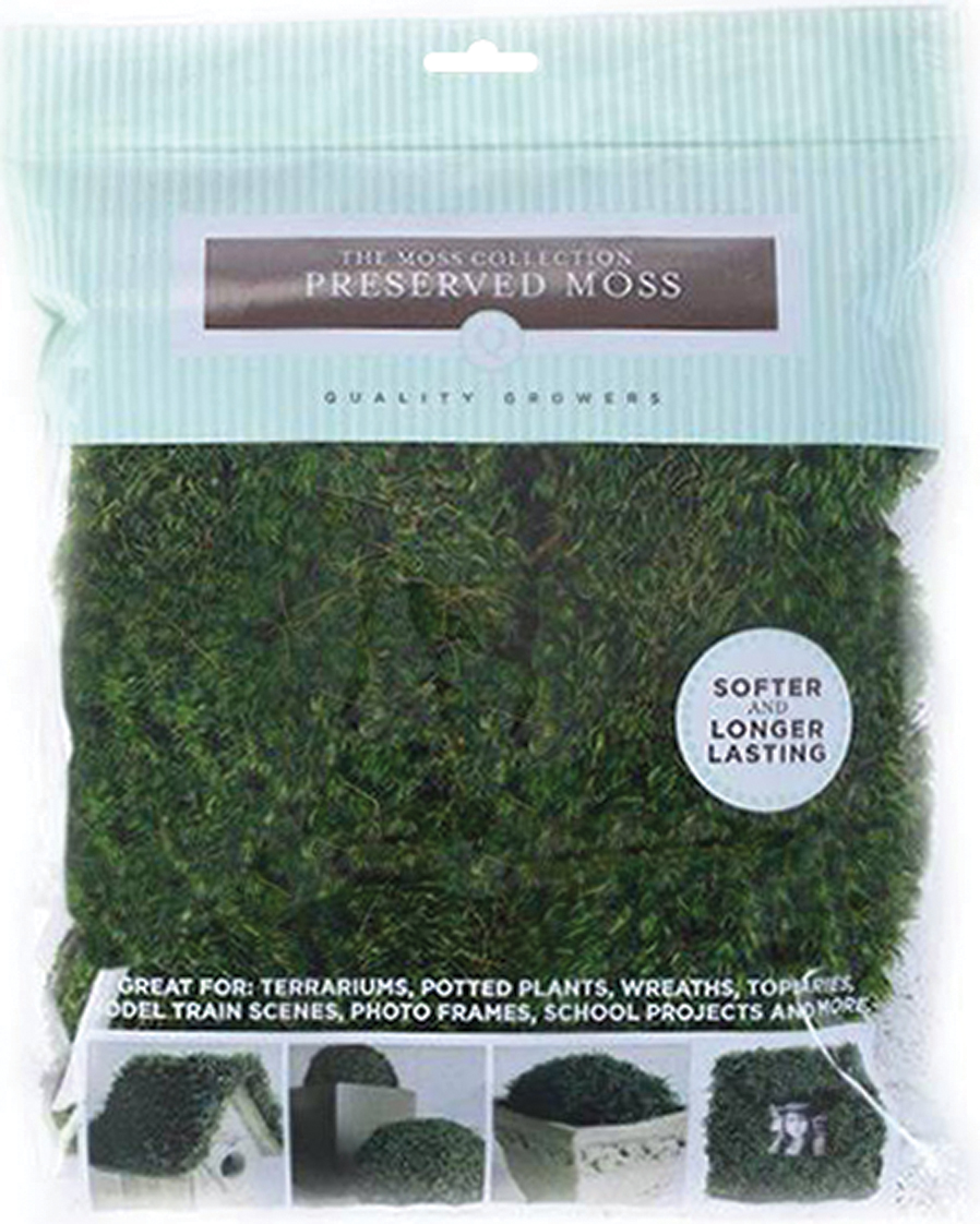 Quality Growers Preserved Moss 112.5 Cubic Inches-