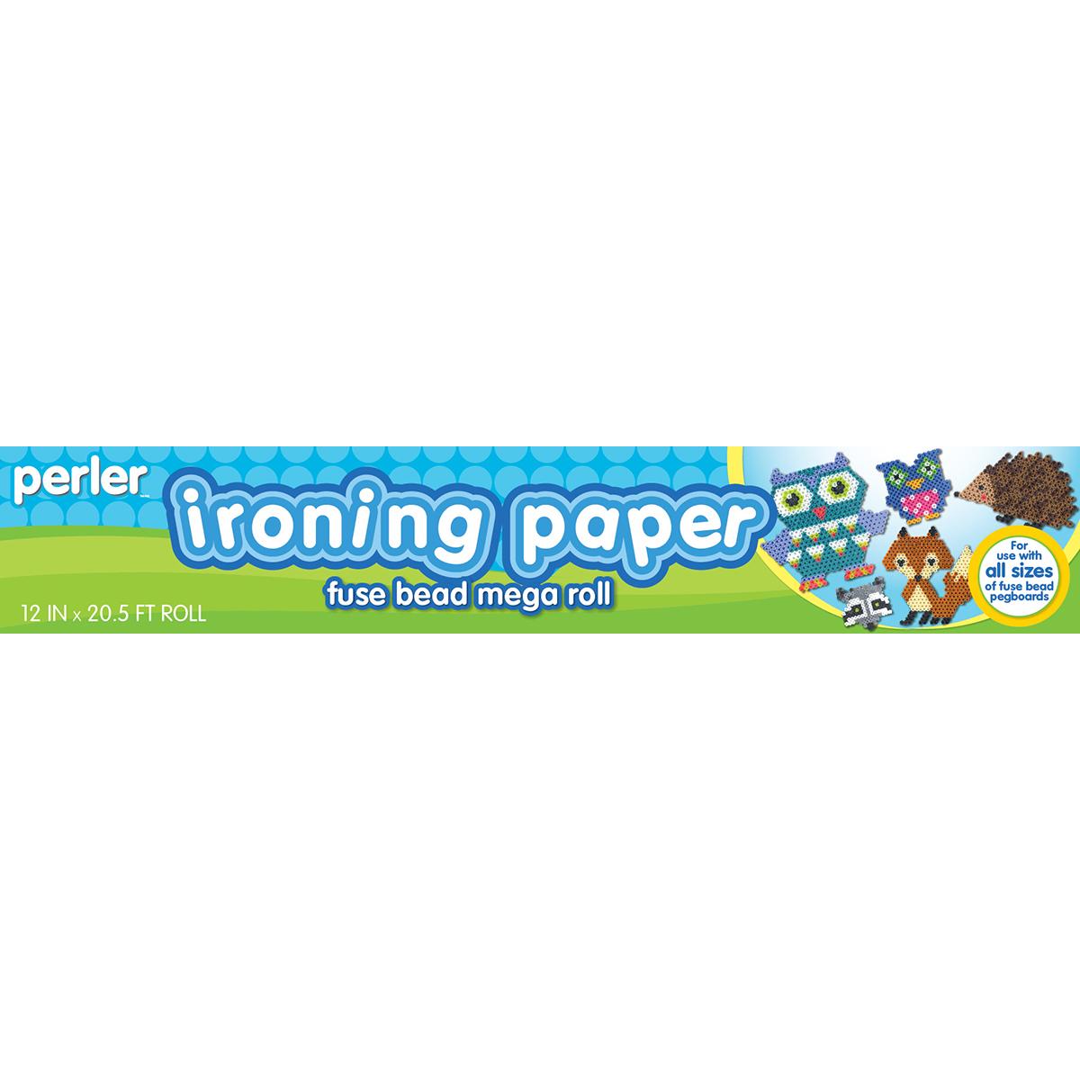 Perler Ironing Paper 12X20.5' Mega Roll-