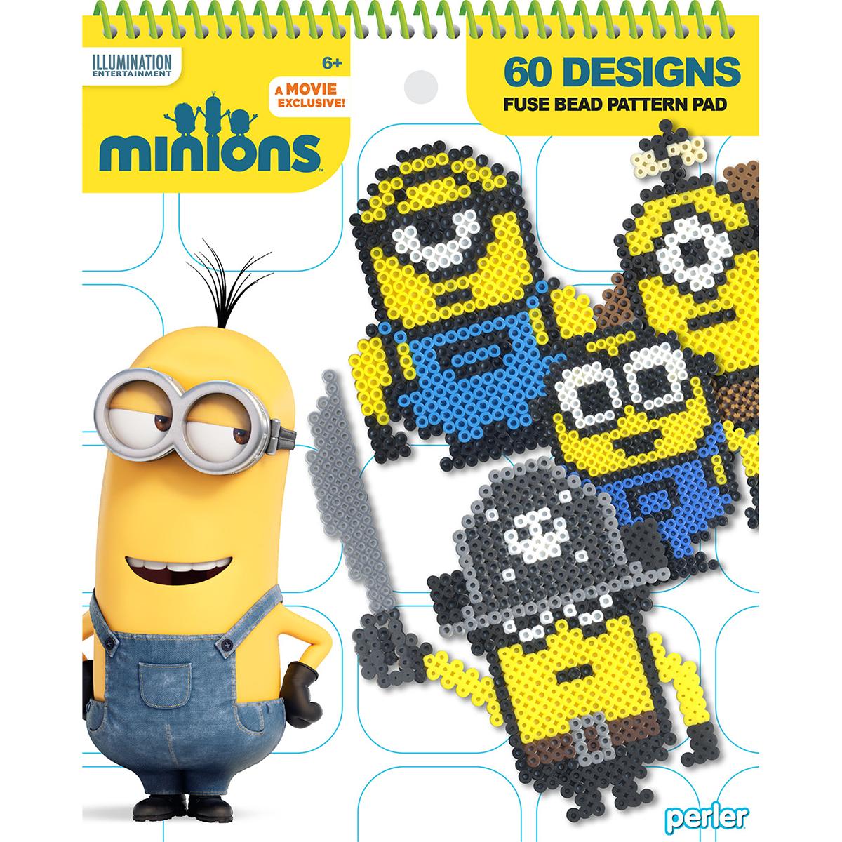 Perler Minions Fused Bead Pattern Pad-60 Designs