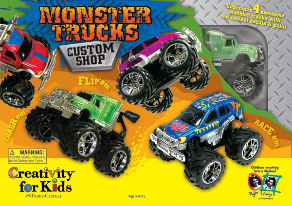 Monster Trucks Custom Shop Kit-