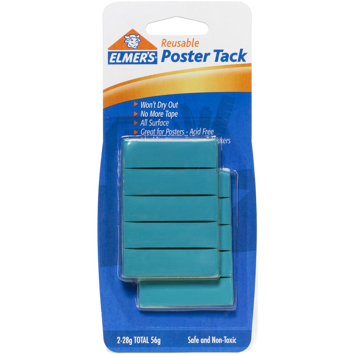 Elmer's Reusable Poster Tack-2oz