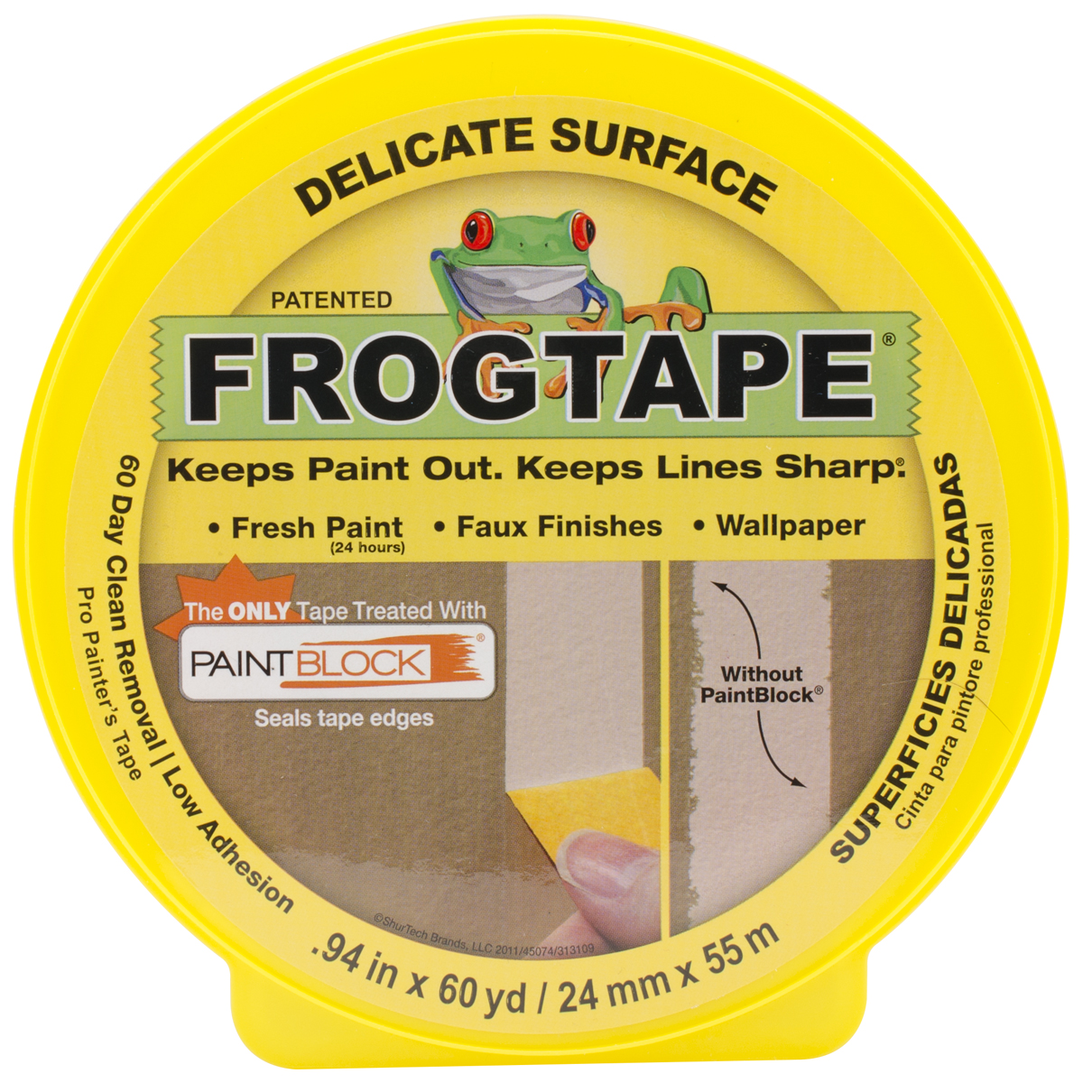 YELLOW FROGTAPE 94INX60YD