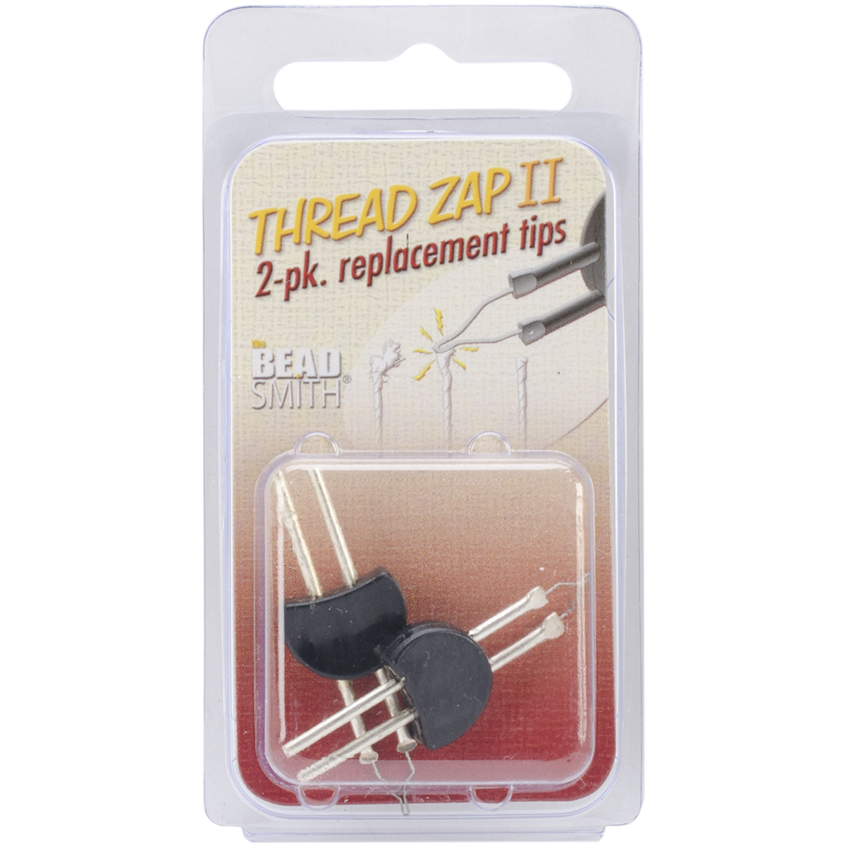 Beadsmith Thread Zap II Replacement Tips 2/Pkg-
