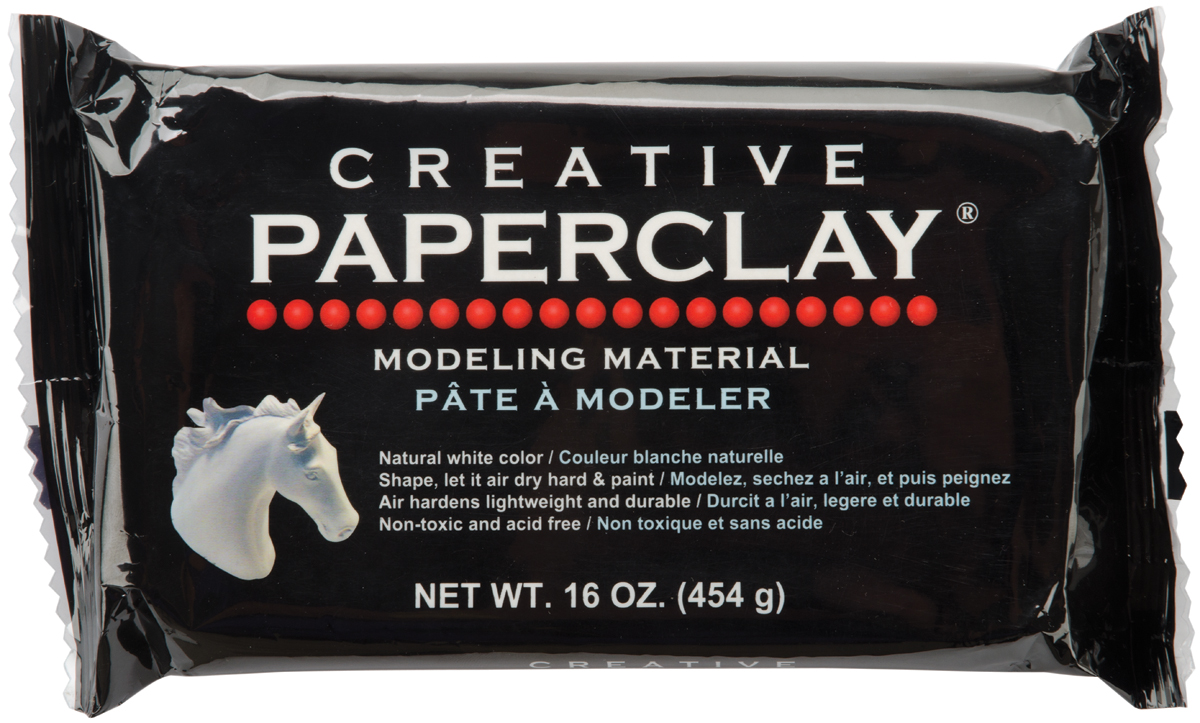 Creative Paperclay 16oz-White