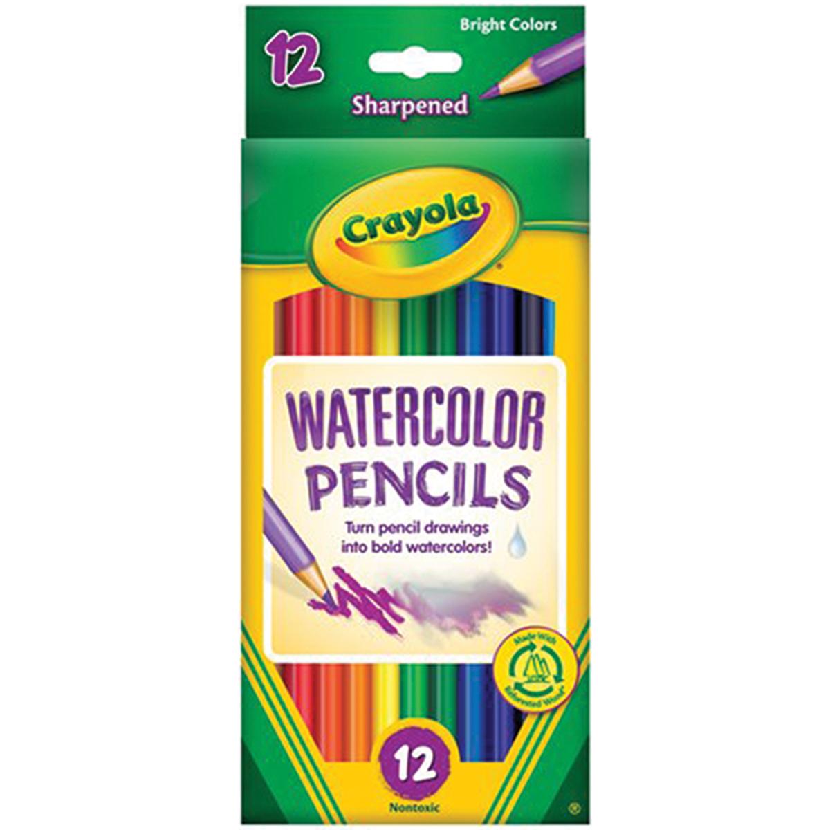 Crayola- Watercolor Pencils