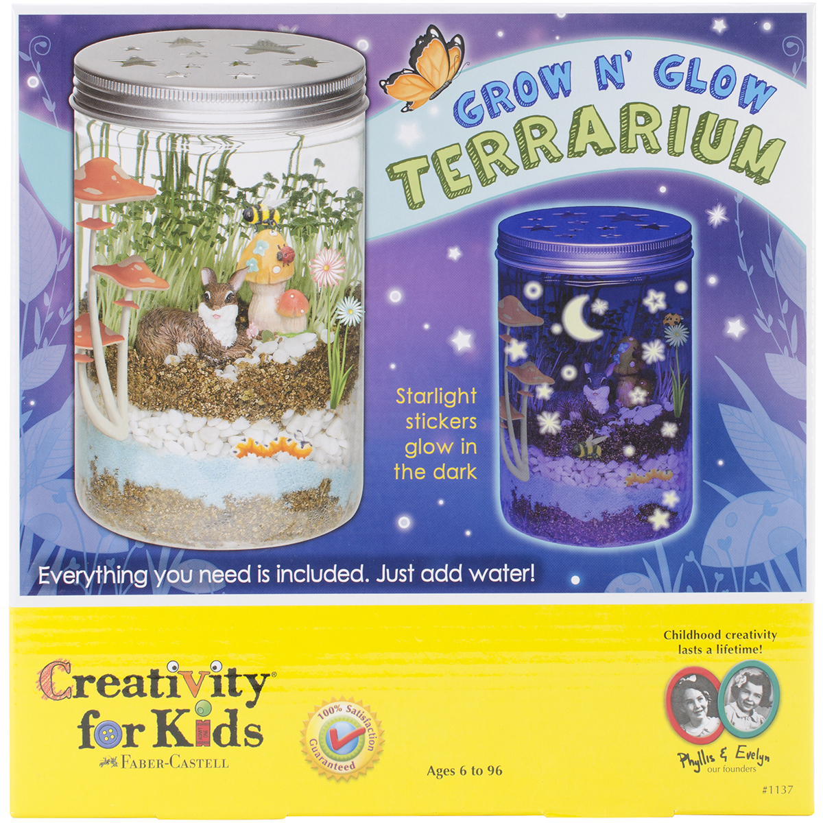 Grow 'N Glow Terrarium Kit-